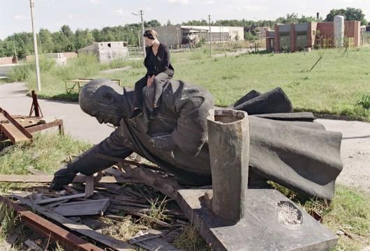 Statua Lenin