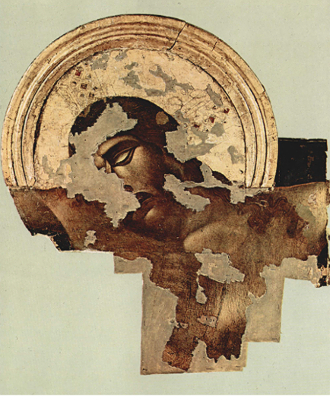 Particolare Cristo Cimabue